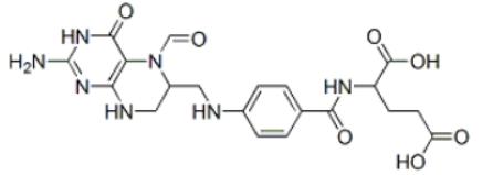 Folinic acid Structure