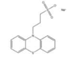 sodium 3-(10H-phenothiazin-10-yl)propane-1-sulfonate Structure