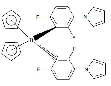 Irgacure 784 structure