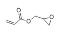 Glycidyl Acrylate Structure