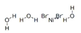 Nickel(II) bromide trihydrate (Nickel bromide) Structure