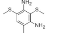 Dimethyl thio-toluene diamine Structure
