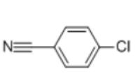 4-Chlorobenzonitrile Structure