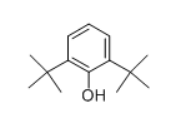 2,6-Di-tert-butylphenol CAS 128-39-2 Structure