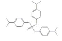 Isopropylphenyl phosphate Structure