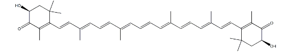 Astaxanthin Oil (CAS 472-61-7) Structure