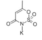 Acesulfame K (Acesulfame) Structure