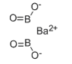 Barium metaborate Structure