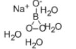 Sodium Perborate Tetrahydrate Structure