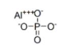 Aluminium phosphate Structure
