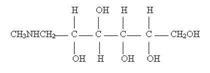 Meglumine Structure