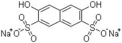 Disodium 3,6-dihydroxynaphthalene-2,7-disulphonate Structure