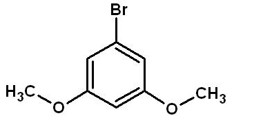 1-Bromo-3,5-dimethoxybenzene Structure