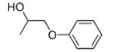 1-Phenoxy-2-propanol Structure