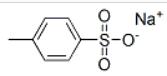 Sodium p-toluene sulfonic Structure