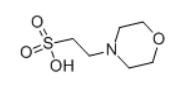4-Morpholineethanesulfonic acidstructure