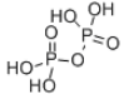 Pyrophosphoric acid Structure